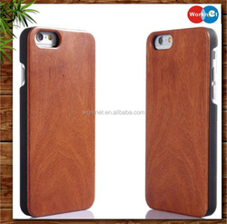 alibaba wholesale PC+wood for iPhone 6/6s hard cover case, for iPhone 6 6s wood case , wood pc case for iphone 6s 6