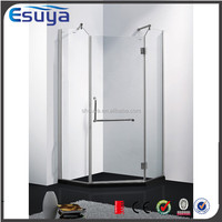 Shanghai supplier seal strip sliding 2 fixed simple shower room / shower cubicle