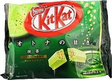 NESTLE KIT KAT MINI GREEN TEA 144G