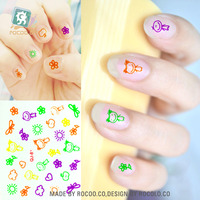 SQ-81 Glow in Dark Nail Sticker Polish