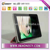 2013 new Smart products android dual core mtk8317 tablet pc with colorful cover