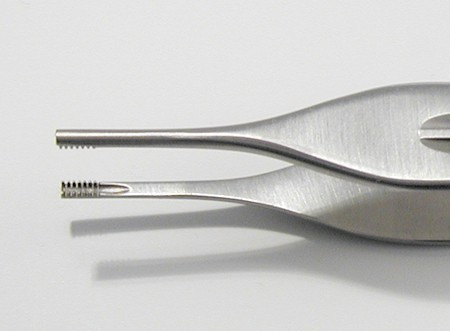 Adson brown tissue forceps fine teeth at the tip used for grasping Forceps straight tips Top High quality Stainless Steel.
