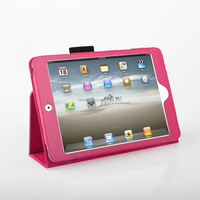 danycase luxury high quality pu leather case for ipad mini
