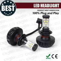 CREE XM-L2 12v 24v High power h7 led headlight bulbs for car and motorcycle