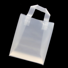 customized shock resistance clear shopping plastic bag