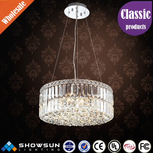 wholesale clean crystal decoration modern chandelier pendant light