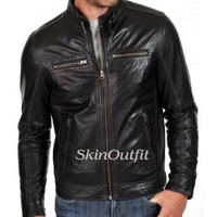 Mens Leather Jacket High Quality With