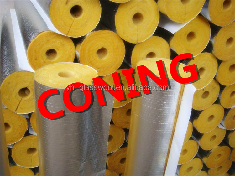 Great Price of Low Thermal Conductivity Heat Insulation Material Rockwool Pipe Insulation
