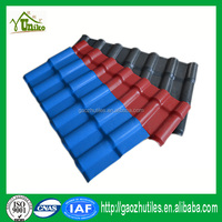 Plastic roof tile distributor Indonesia tile synthetic reisn made roofing price