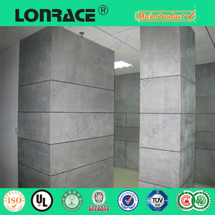 Ce certification fibre cement board exterior wall panels