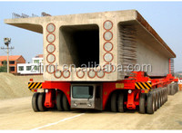bridge beam transport carrier for railway construction site