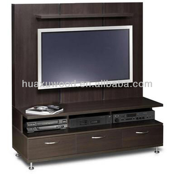 Hx131125 mz254 walnut tall tv stands tv cabinet buy tall tv cabinet tv wall living room for Tall tv stands for living room