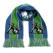European Football Championship Football Fans Scarf with Fringes