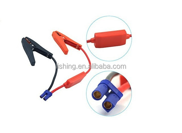 car battery clamps for start the vehicle | jump starter cables for engine start