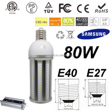 factory direct sale cost saving meanwell driver UL listed 80w corn bulb lighting led