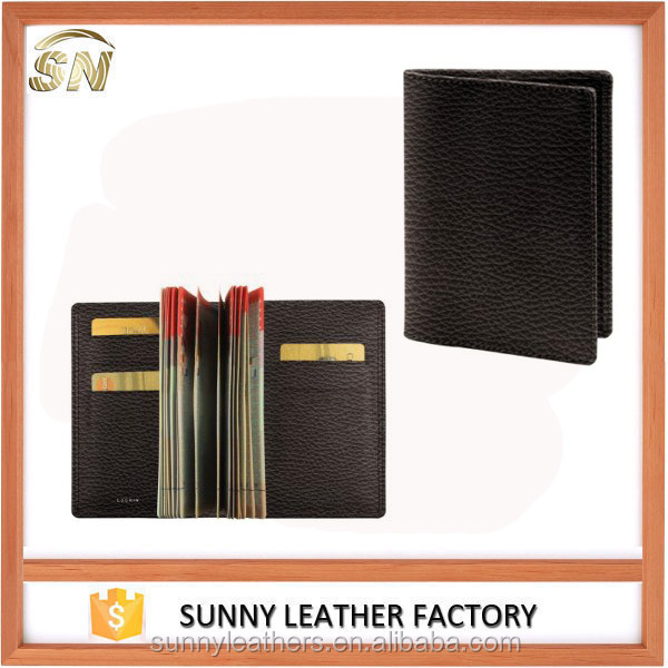 Portable design PU Leather personal travel passport cover