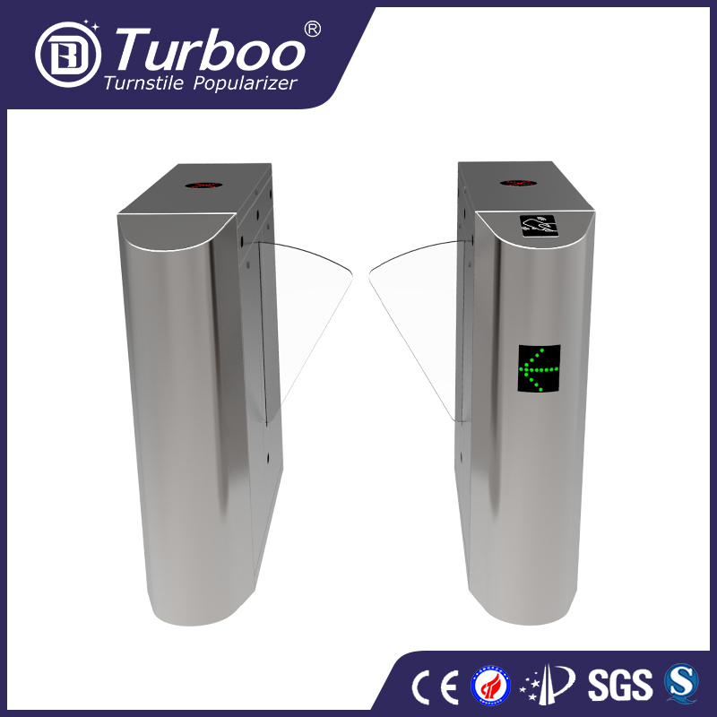 Fastlane security metro station flap barrier gate speed gate turnstile gate with ACB-001 Access control board
