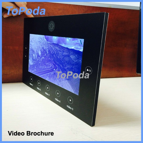 TFT video invitation card with low price