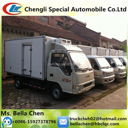 1000kg - 1500kg JAC Mini Refrigerated Van and Truck Hot Sale In Dubai