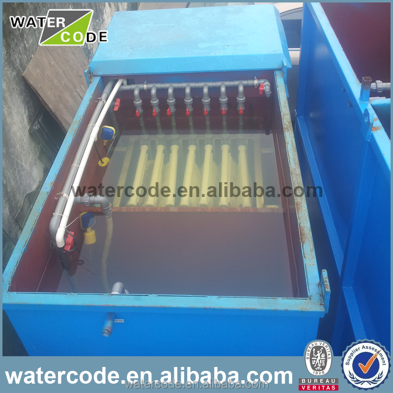 Membrane bioreactor System for wastewater treatment