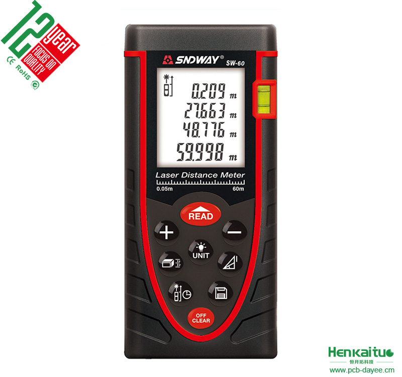 Over 12 Years Experience Laser Meter Measuring Bluetooth Device