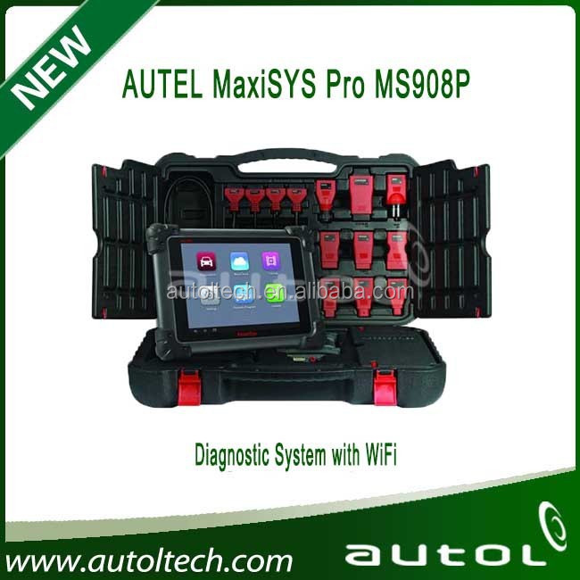 AUTEL MaxiSys Pro MS908P Automotive Diagnostic & ECU Programming System with J-2534 reprogramming box