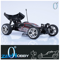rc car 2.4g 1/10th scale electric powered brushed off road rtr buggy (item no. SE1011)