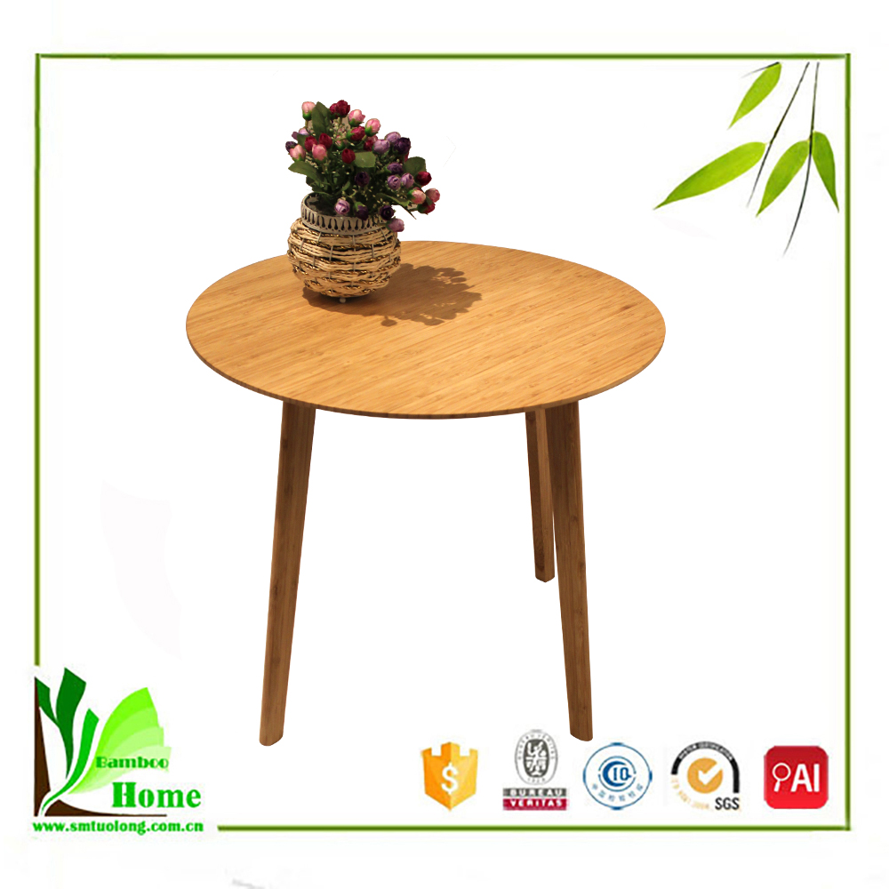 High Quality Bamboo End Table Safe
