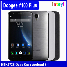 "In Stock DOOGEE Valencia 2 Y100 Plus 5.5"" HD 4G LTE Telefono MTK6735 Quad Core 2GB RAM+16GB ROM 8.0MP+5.0MP Camera Smartphone"