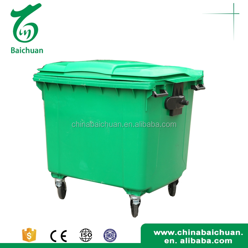 With pedal accept custom order plastic square container