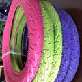 China supplier 2018 new products hebei factory color tire bicycle tyre 20175