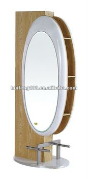 2014 hot sale salon equipment barber mirror table buy for Salon table and mirror