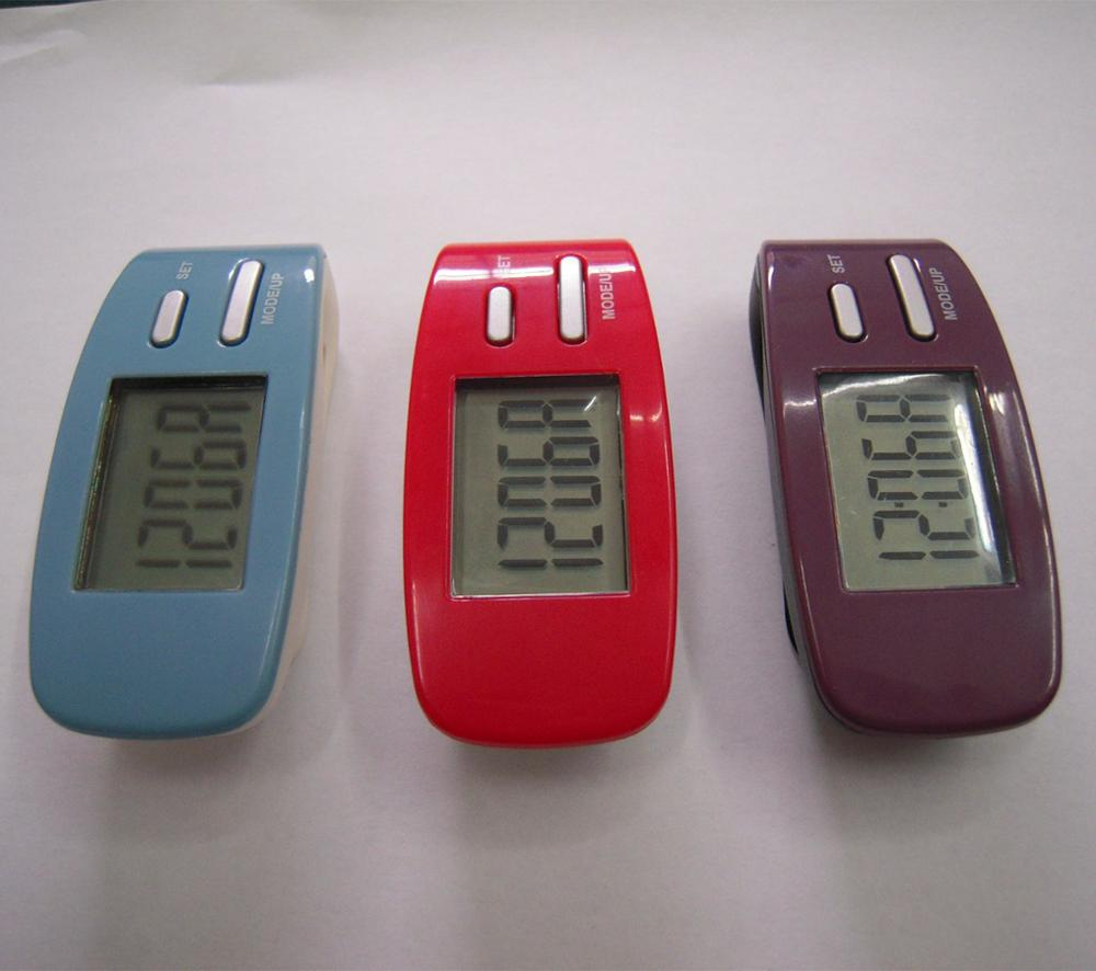 Fashionable digital 2D pedometer