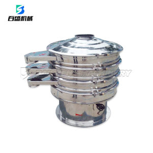 Rotary vibrating sieve for plastic granulation/vibro classifier/industrial sieve shakers