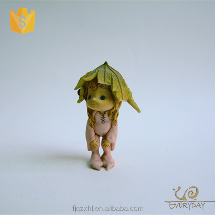 Wholesale Sexy Resin Flower Fairy Figurine For Decoration