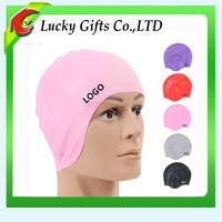 Food Grade Silicone Rubber Swimming Cap with Heat Bearing