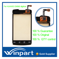 Digitizer Touch Screen Panel Glass Lens for Huawei CM980