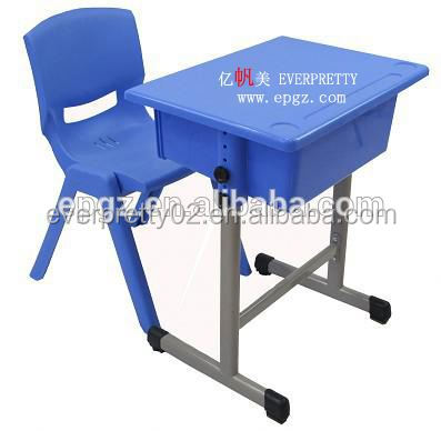 Adjustable Height Children Desk and Chair, Kindergarten Desks and Chairs