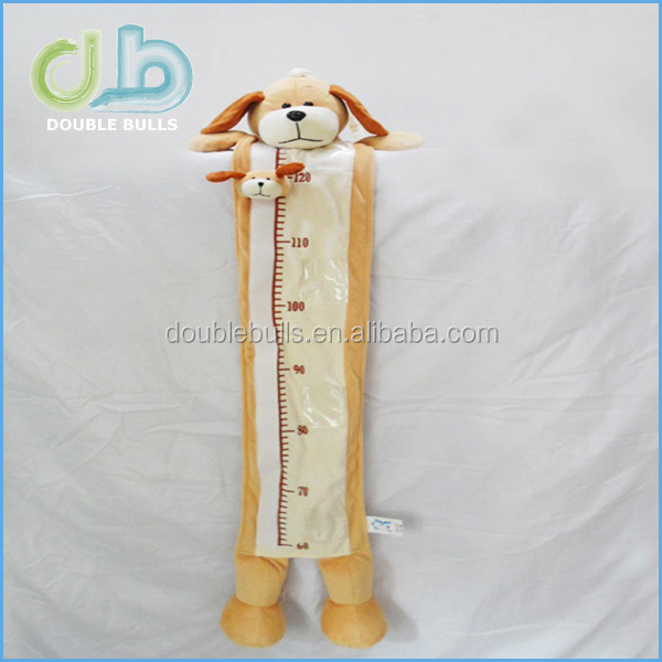 Baby Gund Teddy Bear Plush Height Measurement Chart Ruler Infant Wall Room Decor