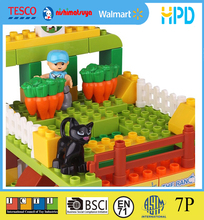 Factory direct supply 163PCS ABS material pasture building block set