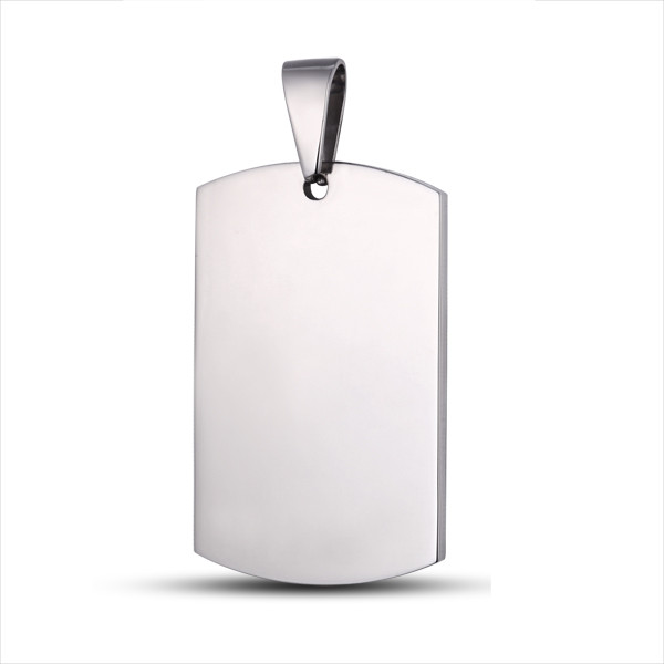 Any Shape blank Stainless Steel Dog Tags
