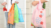 Portable Cute Mini String Strawberry Bags Eco Reusable Shopping Bag Tote Folding Foldable Bags Folding Foldable
