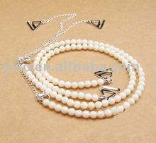 pearl beaded bra strap