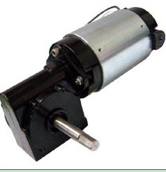 6-24V 5-500RPM 1/4-1/10HP DC Gear motor, ball bearing