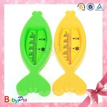 2015 Promotional Fish Shape Room Indoor Outdoor Thermometer Baby Bath Thermometer