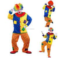 Game playing customized cute clown adults role play halloween costume for cosplay AGM2973