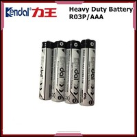 carbon dry battery R03 AAA size 1.5v Cell Battery