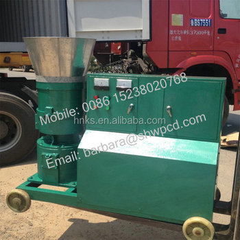 Factory sale flat die chicken feed pellet machine price