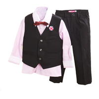 Toddler 4 Pieces Suit Vest