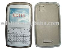 Clearly TPU Cell Phone Case For Motorola EX115